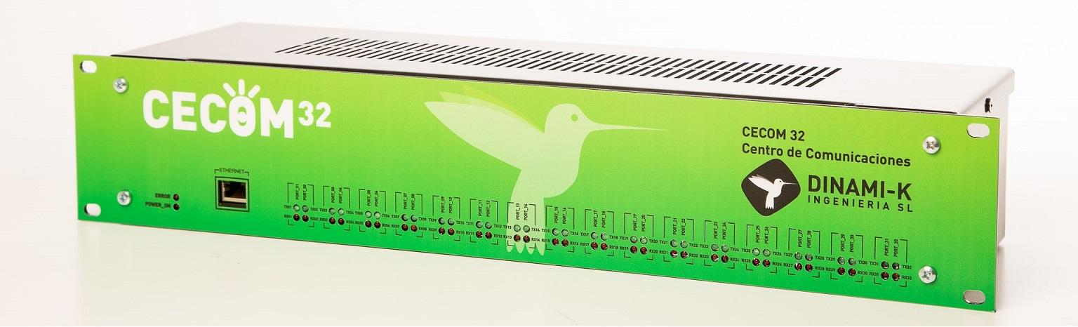 Dinami-K CECOM Concentrador de controladores de tráfico, multifabricante